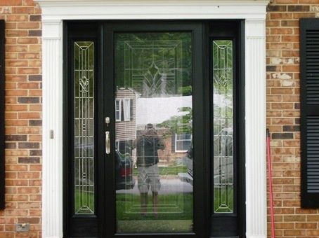 White Sliding Doors Exterior
