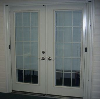 Drafty old French door? We can help. Provia offers options like grids and blinds & Entry Doors u0026 Sliding Glass Doors u2022 American Windows u0026 Siding of VA ...