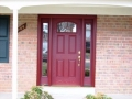 We offer steel and fiberglass doors and have 15 pre-finished colors to chose from. The combinations are limitless.