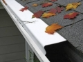 For stronger protection we offer the Leaf Proof gutter helmet. They have multiple color options available and do a fantastic job of keeping your gutters free of debris.