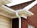 New over sized downspouts will keep water flowing out of your gutters and away from your home.