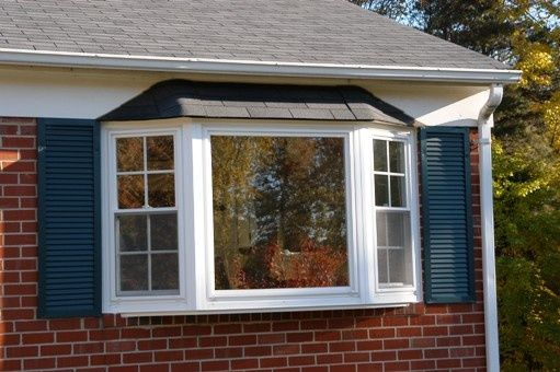 Exterior Bay Options Include Shingle Coil Or Copper Roofing Soffit Close Up