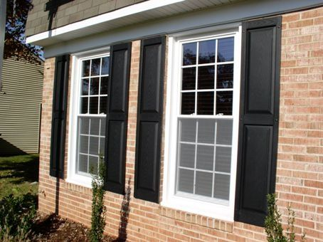 Raised Panel Shutters Are Beautiful With New Windows Too