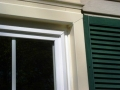 Exterior window trim is clad in your choice of aluminum and sealed with lifetime caulking to match.