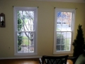 Our windows are custom built for the best fit and sealed to the existing molding. There wont need to be any painting after your project is completed.