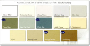 Charter Oak Energy Elite Contemporary Color Collection