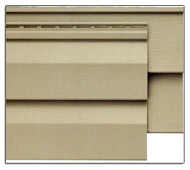 Premium Vinyl Siding Profile: Dutch lap and classic clapboard vinyl siding profiles.