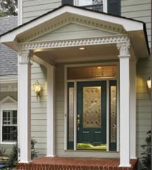 Entry Door Replacement Comparing Steel Vs Fiberglass American Windows Siding Of Va Inc